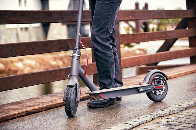 Scooter eléctrico Ganador de la prueba