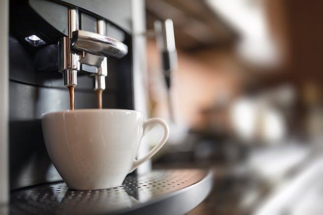 Cafetera express Ganador de la prueba